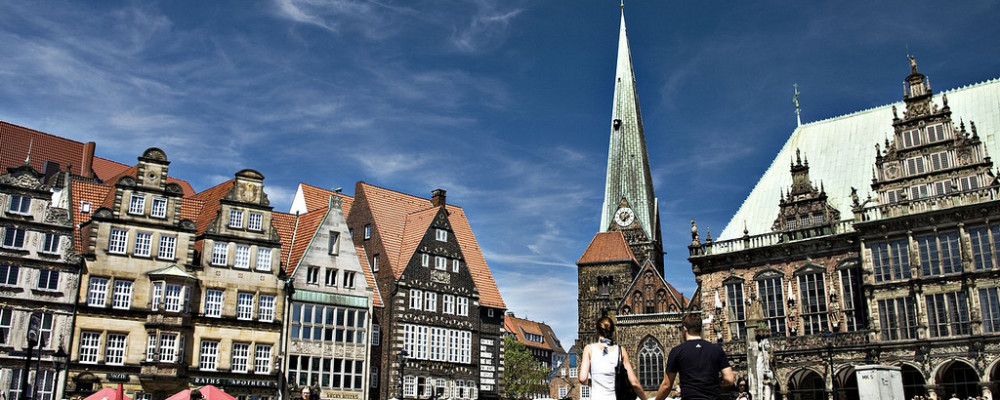 Stary rynek w Bremie, 2010 / Credit: Sudeep Nethra, CC-BY-SA 3.0