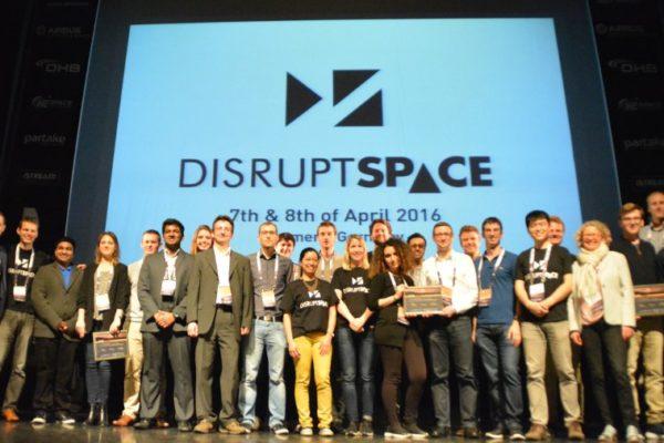 Zwycięzcy Disrupt Space _Źródło Blue Dot Solutions