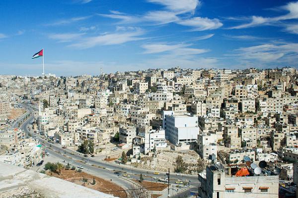 Amman, stolica Jordanii (2005) / Credit: David Bjorgen, CC-BY-SA 2.5