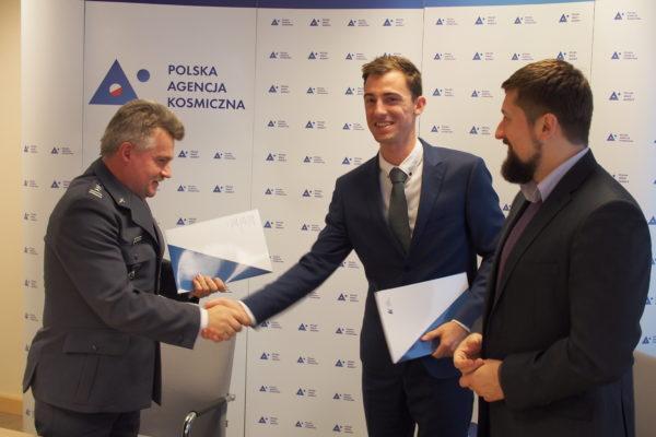 Podpisanie umowy o studium wykonalności dotyczące Przyszłościowych technik i technologii kosmicznych dla Polskiej Agencji Kosmicznej